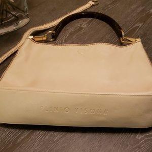 Plinio visona genuine leather  bag